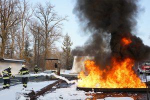 Lehrgang für Vortragende in der Entstehungsbrandbekämpfung