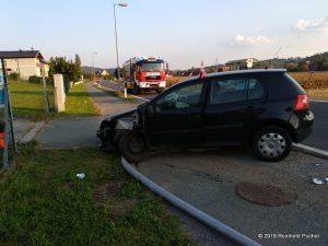 Verkehrsunfall auf der B73