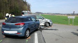 Verkehrsunfall B73 Maierhofen