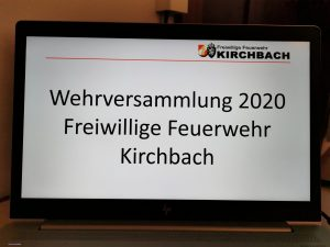 Wehrversammlung 2020