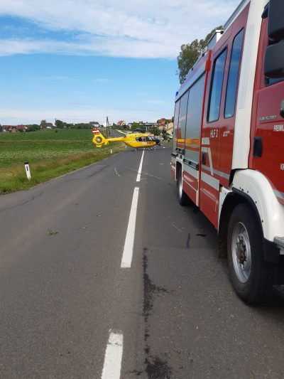 Verkehrsunfall mit Quad