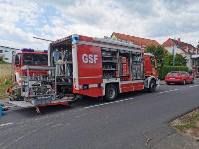 Schadstoffeinsatz – Dieselaustritt