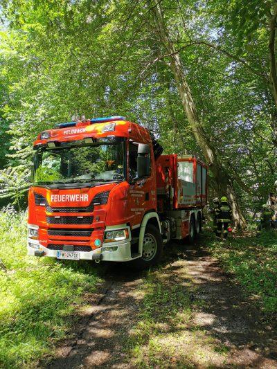 LKW Bergung in Glatzau