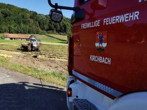 Traktorbergung in Maierhofen
