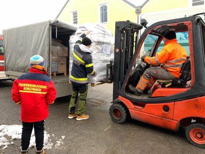 Spendensammlung Erdbebenopfer